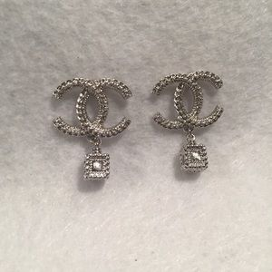 Authentic Chanel Earrings STAMPED